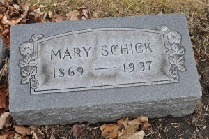 Mary (Pagels) Schick