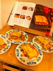 Baked Veggie Lasagna
