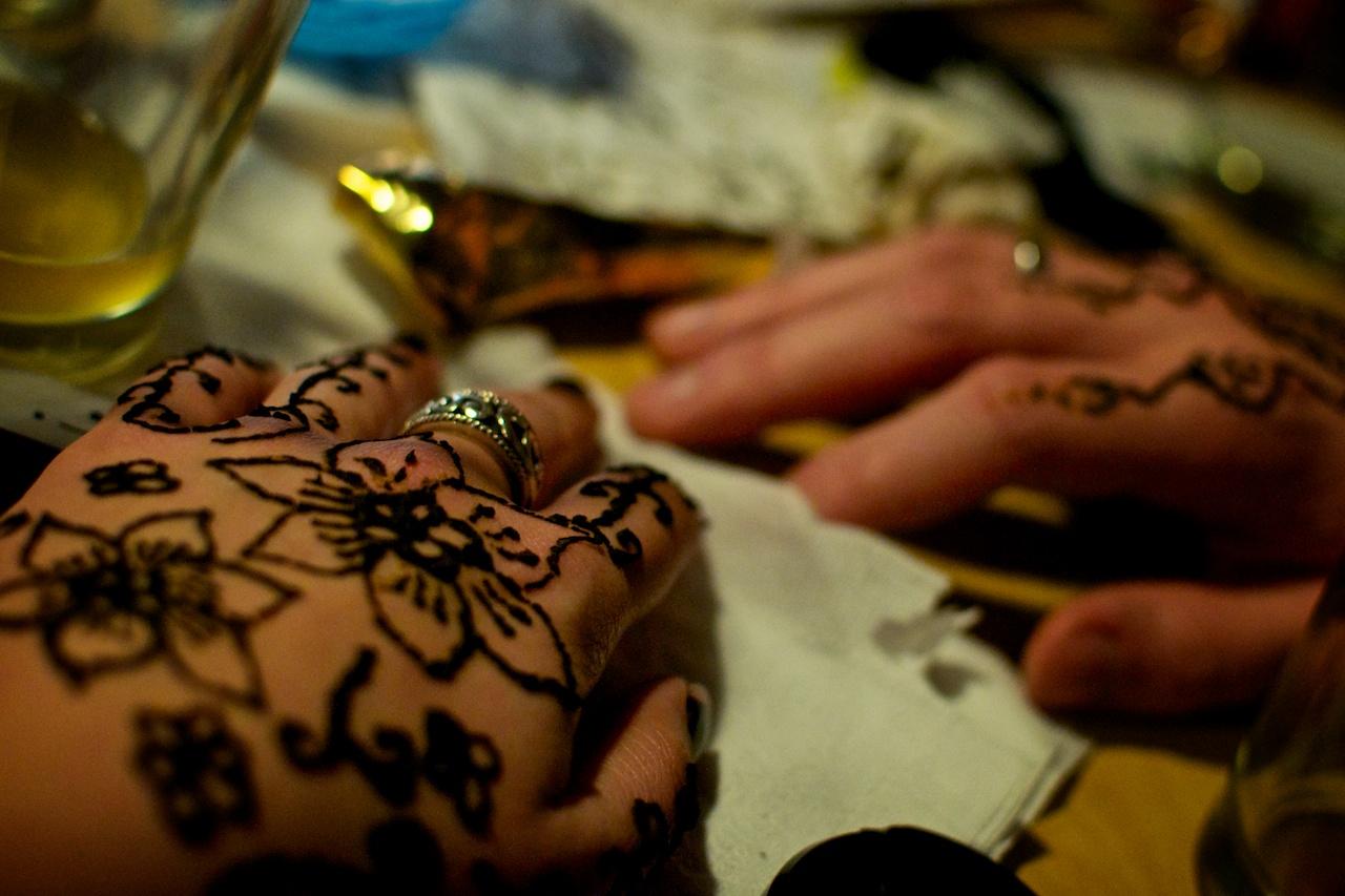 Liquor & Henna