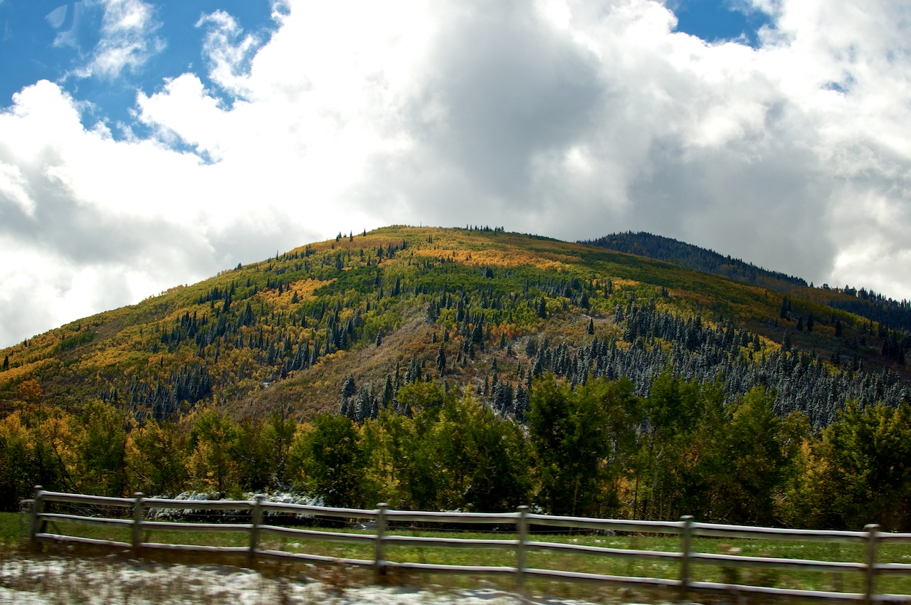 Bright Mountain Colors